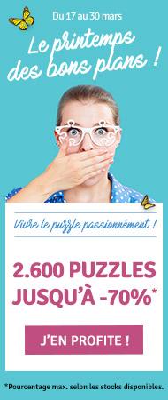 Le printemps des bons plans, 2.600 Puzzles jusqu'à -70%