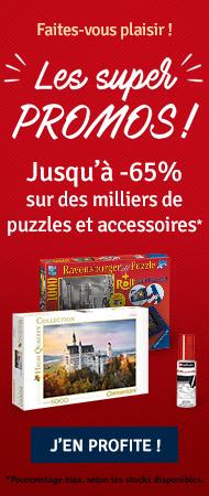 Les super Promos, jusqu'à -65% sur les puzzles et accessoires